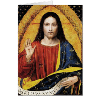 CHRIST THE KING CARD