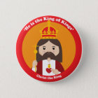Christ the King Pinback Button