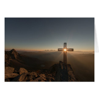 Christ the Lord is risen today Card