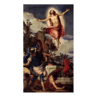 Christ the Lord is risn' today, Alleluia! Double-Sided Standard Business Cards (Pack Of 100)