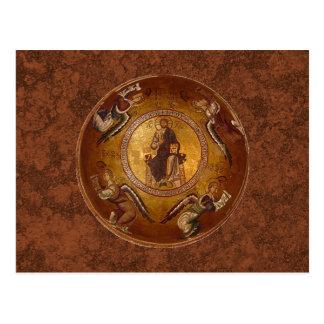 Christ the Pantakrator Christian Icon Postcard