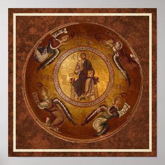 Christ the Pantakrator Christian Icon Posters
