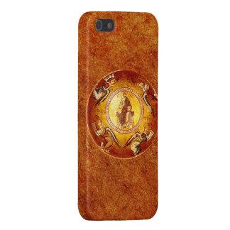 Christ the Pantokrator Byzantine Art iPhone 5 Cases