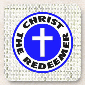 Christ the Redeemer Beverage Coaster