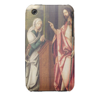 Christ the Redeemer blessing a woman (panel) Case-Mate iPhone 3 Cases