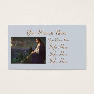 Christ The Redeemer Business Card
