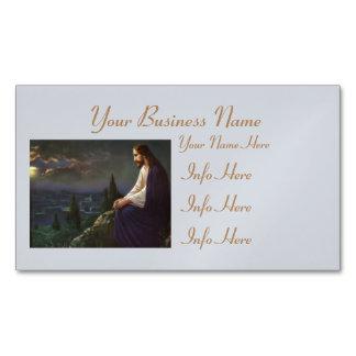 Christ The Redeemer Business Card Magnet