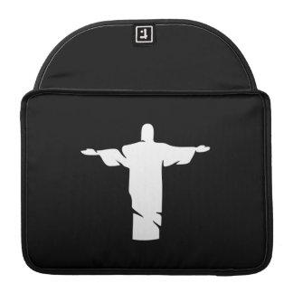 Christ the Redeemer Pictogram MacBook Pro Sleeve
