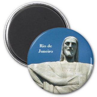 """""""Christ the Redeemer, Rio de Janeiro"""" magnet"""