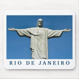 """Christ the Redeemer, Rio de Janeiro"" mousepad"