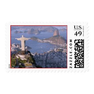 Christ the Redeemer Rio De Janeiro Stamp