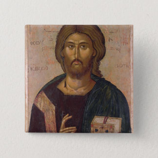 Christ the Redeemer, Source of Life, c.1393-94 Pinback Button