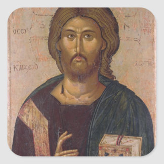 Christ the Redeemer, Source of Life, c.1393-94 Square Sticker