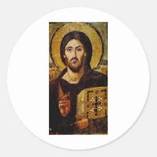 Christ the Savior Classic Round Sticker