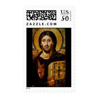 Christ the Savior Icon Postage Stamp