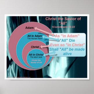 Christ the Savior of All Poster