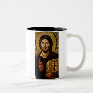 Christ the Savior Two-Tone Coffee Mug
