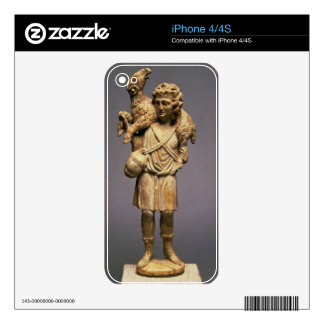 Christ the Shepherd (ivory) Decals For iPhone 4