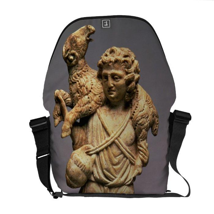 Christ the Shepherd (ivory) Messenger Bag