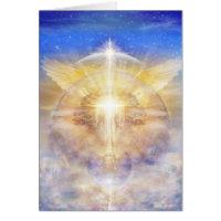 Christ Tree of Light Greeting Card