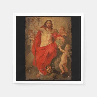 Christ Triumph Over Death and Sin Paper Napkin