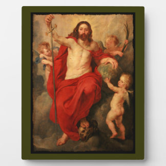 Christ Triumph Over Sin and Death Plaque
