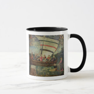 Christ walking on the water, after the 'Navicella' Mug
