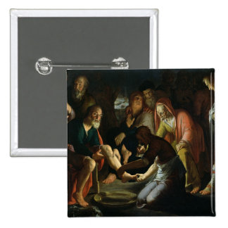 Christ Washing the Disciples' Feet, 1623 Button