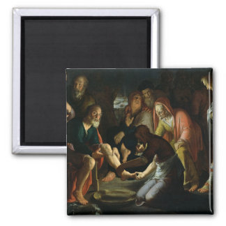 Christ Washing the Disciples' Feet, 1623 Magnet