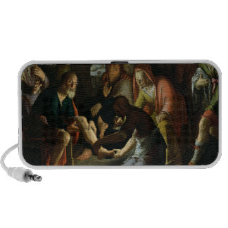 Christ Washing the Disciples' Feet, 1623 Notebook Speakers