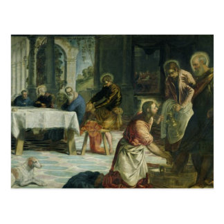 Christ Washing the Disciples' Feet, c.1547 Postcard