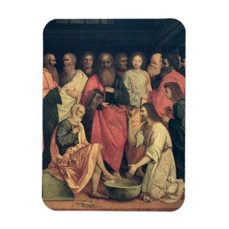 Christ Washing the Disciples' Feet Rectangular Photo Magnet