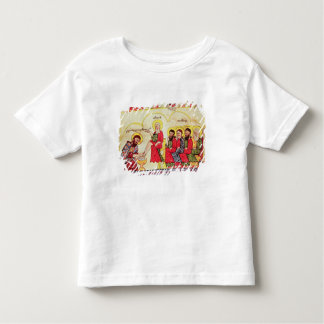 Christ washing the disciples feet toddler t-shirt