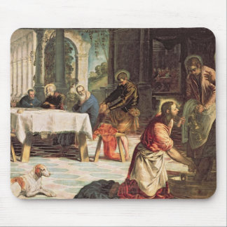 Christ Washing the Feet of the Disciples 2 Mouse Pad