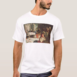 Christ Washing the Feet of the Disciples 2 T-Shirt