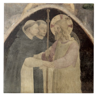 Christ Welcomes Two Dominican Friars, (fresco) (de Ceramic Tile