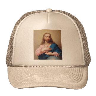 Christ With a Globe by Vladimir Borovikovsky Trucker Hat