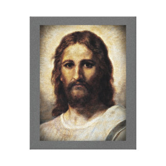Christ with Compassionate Eyes Canvas Print