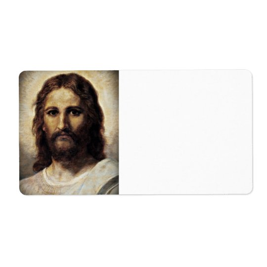 Christ with Compassionate Eyes Label