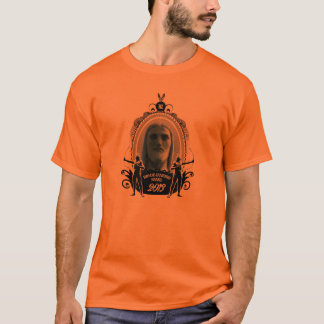 Christ with indians prints front and reverse T-Shirt