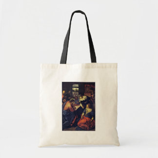 Christ With Mary And Martha Inv 4788 By Tintoretto Bags
