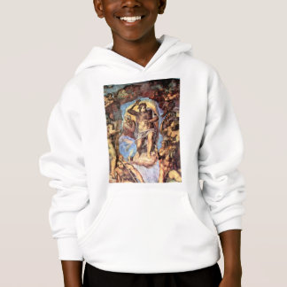 Christ with Mary by Michelangelo Unterberger Hoodie