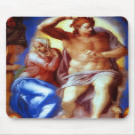 Christ With Mary Mousepad
