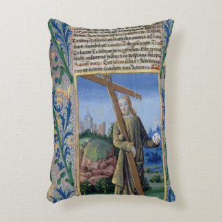 Christ with the Cross and the orb Accent Pillow