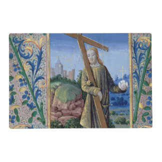 Christ with the Cross and the orb Laminated Place Mat