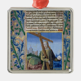 Christ with the Cross and the orb Christmas Tree Ornament