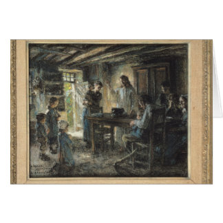 Christ with the Meek, 1903-04 Card