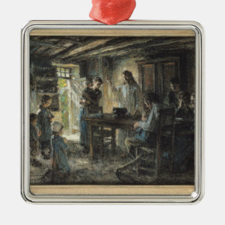 Christ with the Meek, 1903-04 Metal Ornament