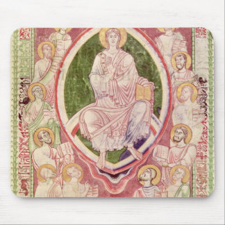 Christ with the twelve minor prophets mouse pad