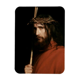 Christ with Thorns by Carl Bloch. Fine Art Magnet